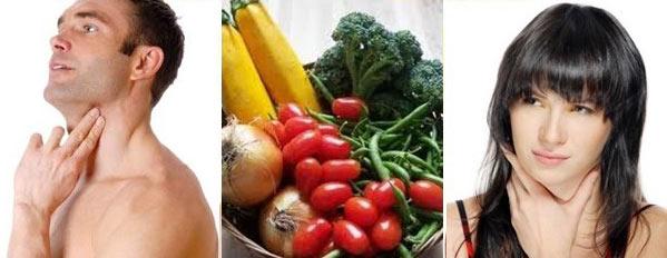 При гипотиреозе важно соблюдать диету