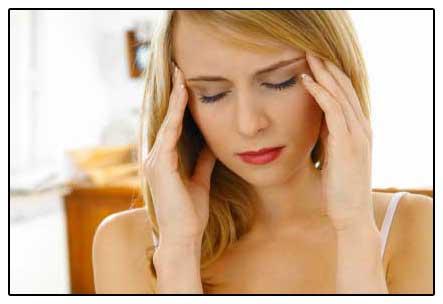 фото - головокружение и головная боль при повышенном пролактине из-за  объемного образования