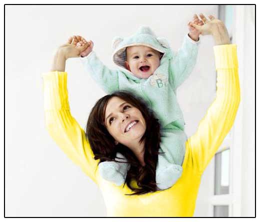 фото - мать с ребенком