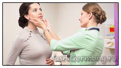 Фото: эндокринолог и пациент