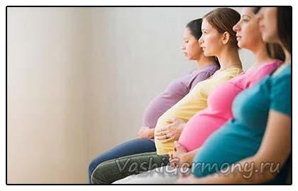фото беременных дамочек сидящих в ряд