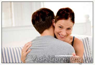 Фото мужа и забеременевшей жены